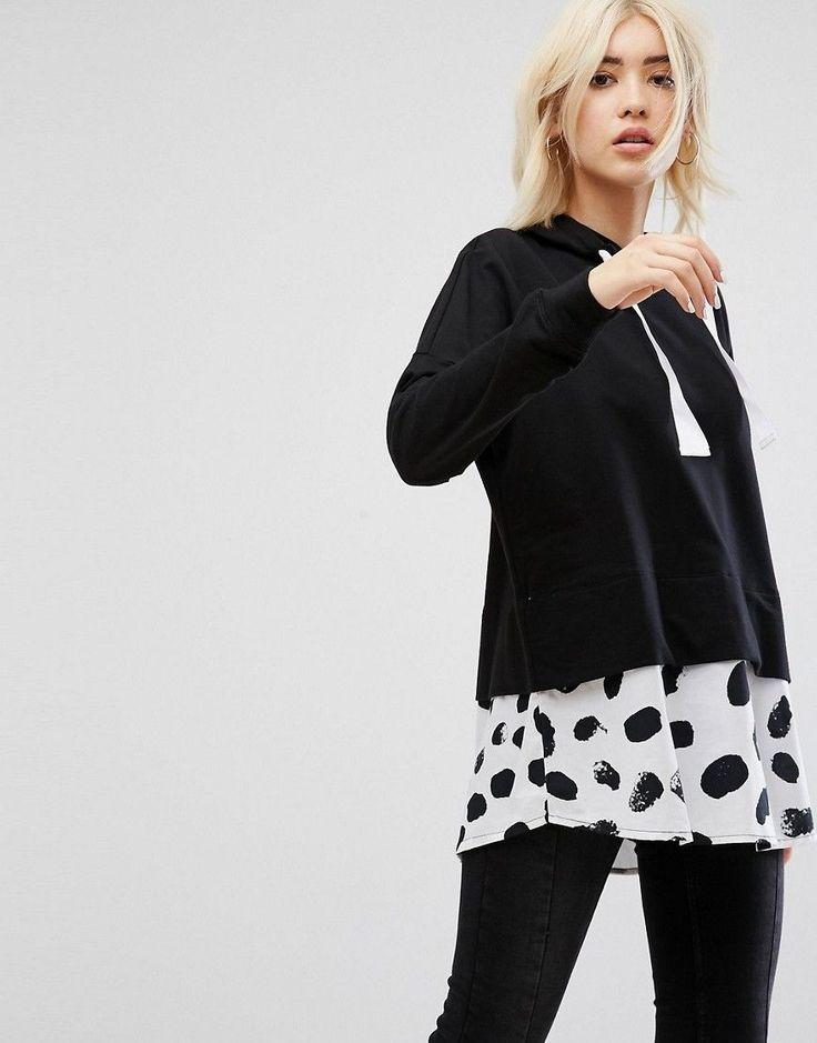 Les 472 meilleures images du tableau Women's Sweatshirts :: Hooded  sweatshirt (Asos) sur Pinterest | Femmes, Hauts shell top et Vêtement