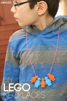DIY LEGO Necklaces |