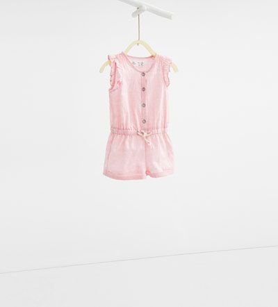 Printed jumpsuit-DRESSES AND JUMPSUITS-BABY GIRL | 3 months-3 years-KIDS | ZARA United States
