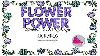 """A great springtime set of activities for your speech therapy sessions!  Easy prep for your busy spring schedules!Packet includes:2 open ended articulation activities1 """"craftivity"""" featuring sounds in the initial position1 irregular past tense verb activity1 category activity1 """"craftivity"""" for vocabulary and describing4 antonym/synonym activities"""
