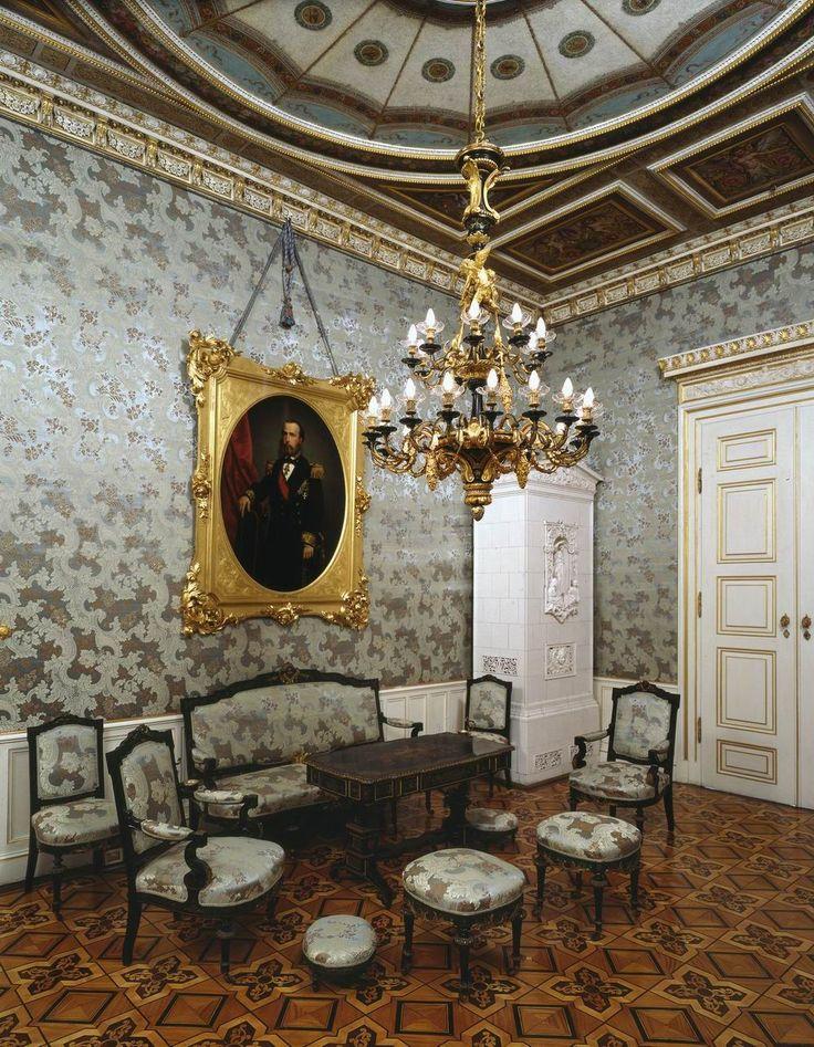 Museo Revoltella, Trieste - Salotto azzurro di Palazzo Revoltella