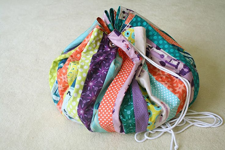 DIY: sac/tapis de jeu