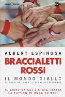 Braccialetti rossi : il mondo giallo : se credi nei sogni, i sogni si creeranno / Albert Espinosa  http://opac.provincia.como.it/WebOPAC/TitleView/BibInfo.asp?BibCodes=157459568