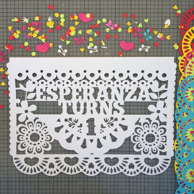 Papel Picado Banner, Mexican Fiesta Birthday Banners, Cinco de Mayo, Fiesta Decorations, First Fiesta, Mexican Wedding by LulaFlora on Etsy https://www.etsy.com/listing/216670128/papel-picado-banner-mexican-fiesta