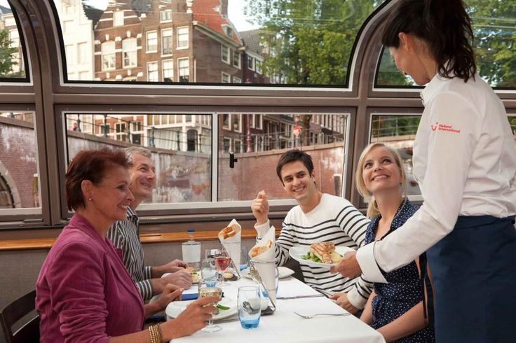 Enjoy an exclusive and delicious fine dining experience whilst taking in the magically lit canals of Amsterdam with Tourboks!