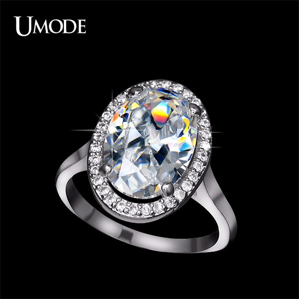 Like and Share if you want this  UMODE Anillos Rhodium plated Rare 6ct AAA+ Big Oval Egg Shaped CZ  Halo Engagement Rings For Women Jewelry AUR0144     Tag a friend who would love this!     FREE Shipping Worldwide     Buy one here---> http://jewelry-steals.com/products/umode-anillos-rhodium-plated-rare-6ct-aaa-big-oval-egg-shaped-cz-halo-engagement-rings-for-women-jewelry-aur0144/    #hoop_earrings