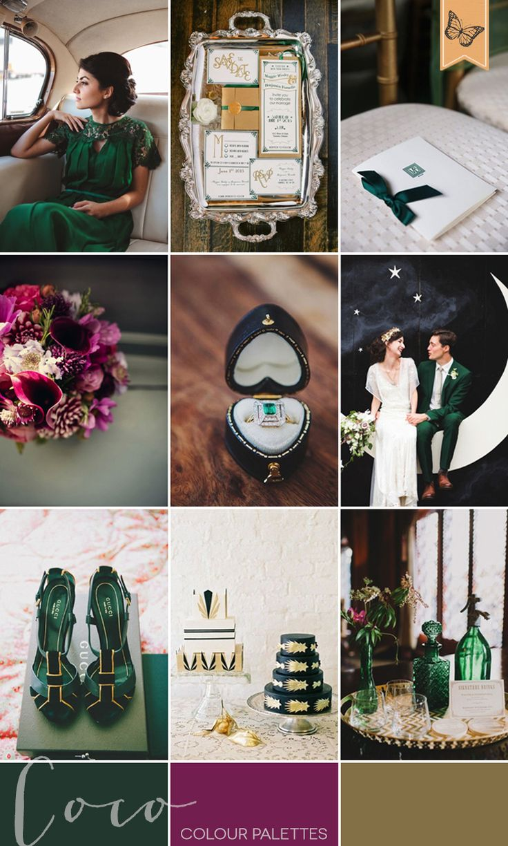 Emerald  Plum | Style Focused Wedding Venue Directory | Coco Wedding Venues