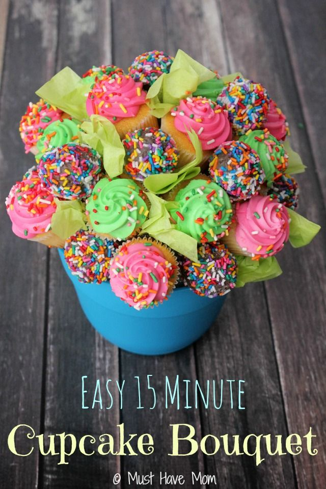 Best 25 Mini Cupcake Bouquets Ideas On Pinterest