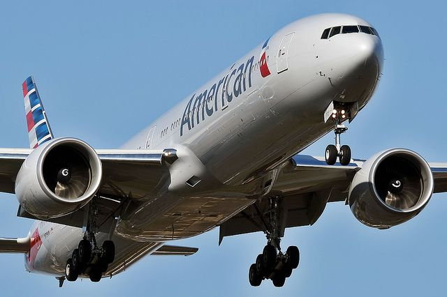 All sizes | N719AN - American Airlines. Boeing 777-323ER, via Flickr.