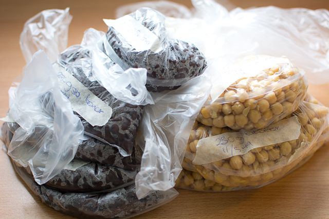 Koka bönor i tryckkokare