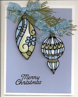 MILLSREPCO BLOG: Ornaments from Elizabeth Craft Designs