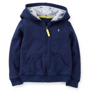 #Carters - Lacivert Kapüşonlu Sweatshirt #kids #çocuk