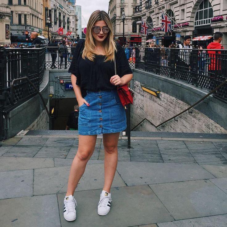 Curtindo Londres com um look @modamercatto xonadaa  #MisturaBoa #Publi