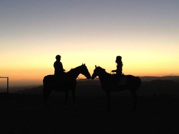 Romantic Date Horseback riding! ❤️ You know I've been wanting to do this!