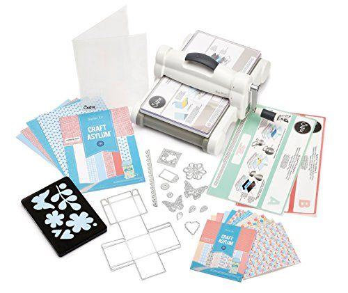 Sizzix 660515 Kit de démarrage machine Big Shot Plus à découper/gaufrer et accessoires