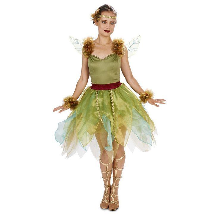 Adult Woodland Fairy Princess Costume, Women's, Size: Medium, Multicolor