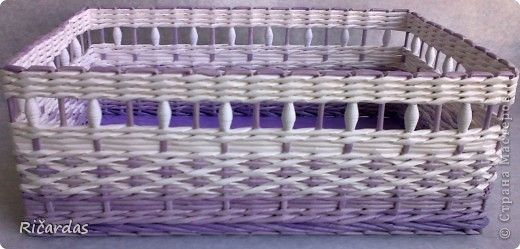Поделка изделие День рождения Плетение Подарок Бумага газетная Бусинки фото 4