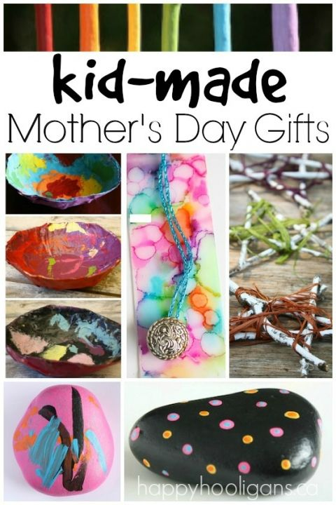 Gorgeous Kid Made Mother's Day Gifts - Happy Hooligans