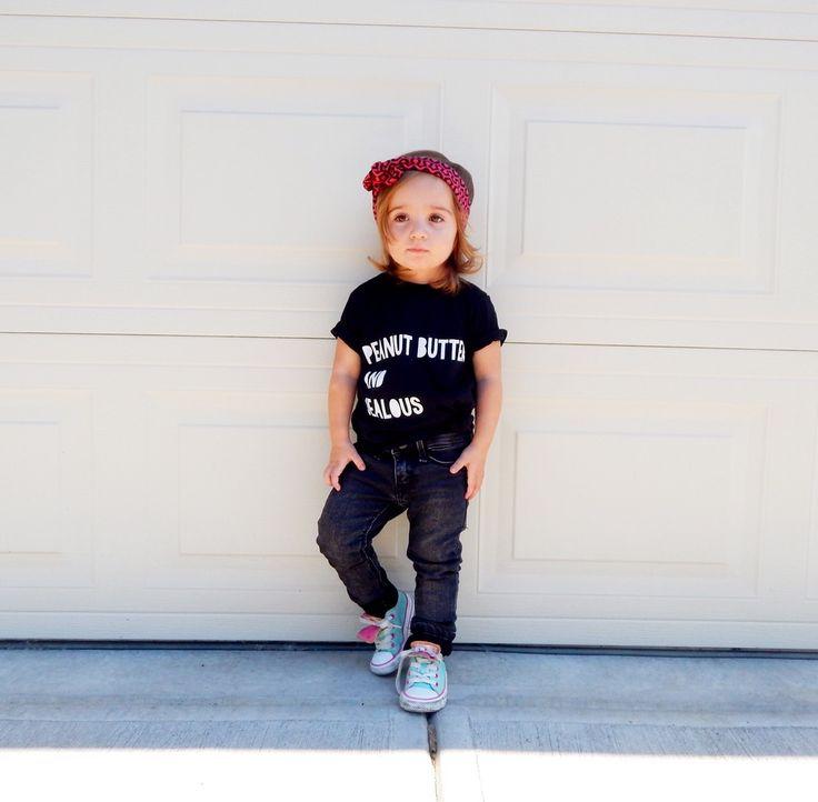 Peanut Butter and Jealous T-Shirt / King and Sage #kingandsage #babytshirt #kidstshirt #babyclothes #madeincanada