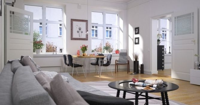 Making of Scandinavian Living room - Tip of the Week - Evermotion.org