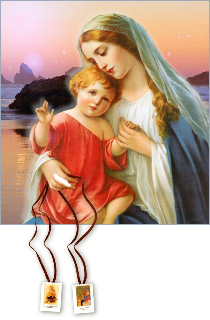 SAINT DOMINIC'S PROPHECY, FATIMA AND THE SCAPULAR WITH PLEDGE TO OUR LADY