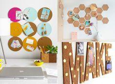 3 DIY para tener un panel de corcho original | La Garbatella: blog de decoración low cost, Home Staging, estilo nórdico y DIY.