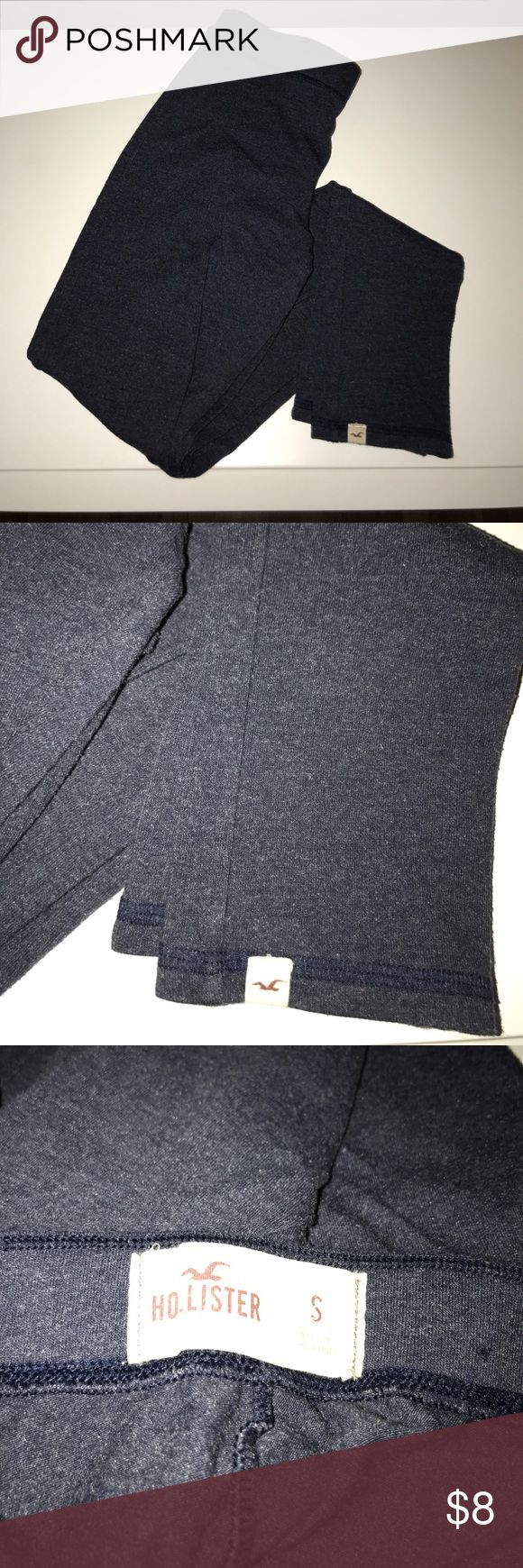 Hollister Navy Leggings Hollister leggings in navy. Fits XS-S. Super comfortable leggings. Worn, but good condition. Comes from smoke free and pet free home. Hollister Pants Leggings