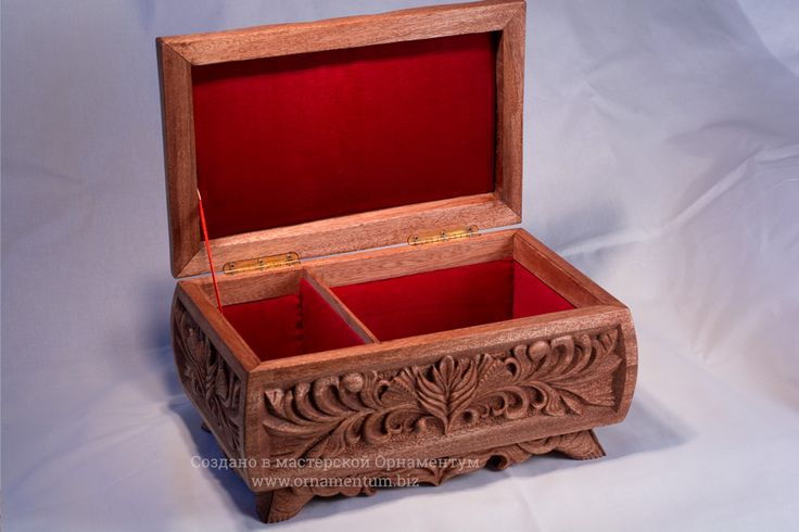 Box covered by oil and finished wax polish.  #woodenbox #carvedbox #ornamentumwood