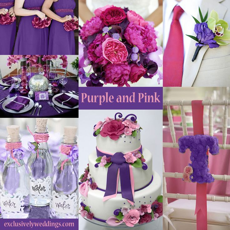 Purple and pink theme