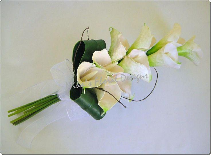 calla lily presentation bridal bouquet | Calla Lily Bouquet – Arts Crafts | Michaels Stores