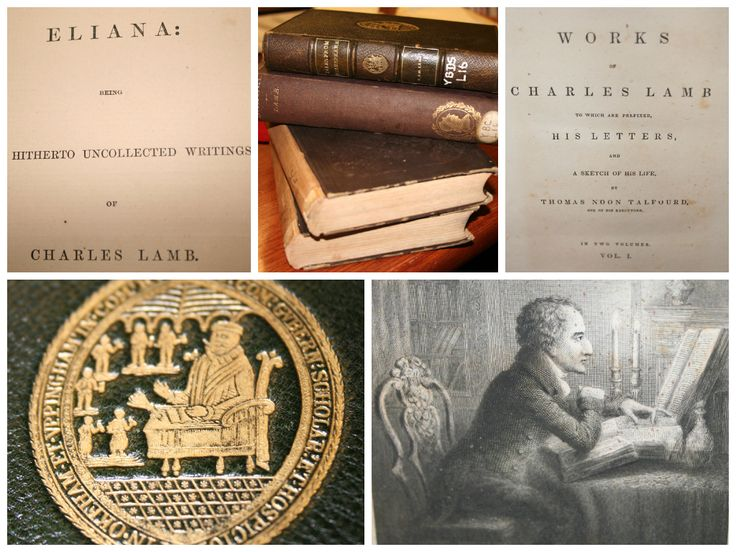 essays of elia the works of charles lamb part one The works of charles and mary lamb 7 vols london:  critics have also seen it as part of lamb's larger  and the essays of elia lamb has long attracted.