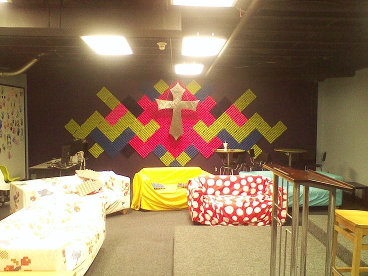 25 best ideas about youth group rooms on pinterest for Egg carton room