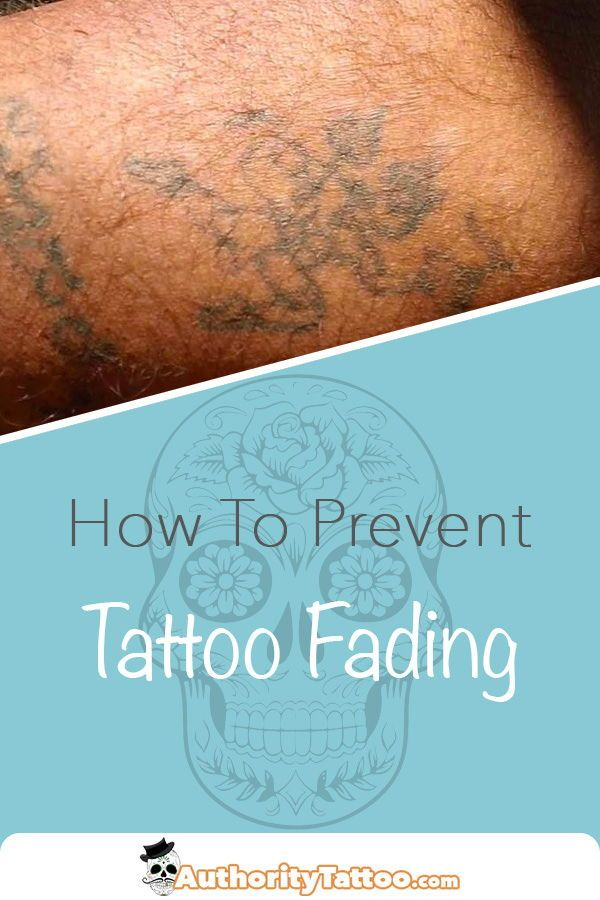 All Tattoos Fade Slightly As They Age But Some Do So At A Much