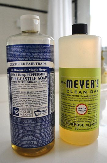 Two organic cleaning products that work for nearly everything (even hand soap!)