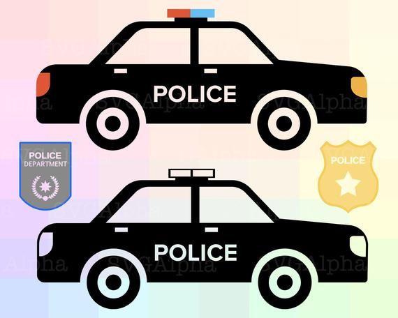 Police Svg File Police Clipart Police Silhouette Police Car Etsy In 2021 Police Svg Clip Art