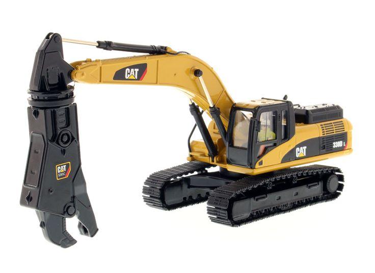 Diecast Masters Caterpillar 330D L Hydraulic Excavator