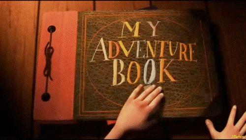 Up: una aventura de altura: ¡Mi libro de aventuras! - dijo Ellie