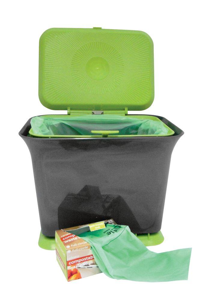 Kitchen Compost Bin Odor Free Collector