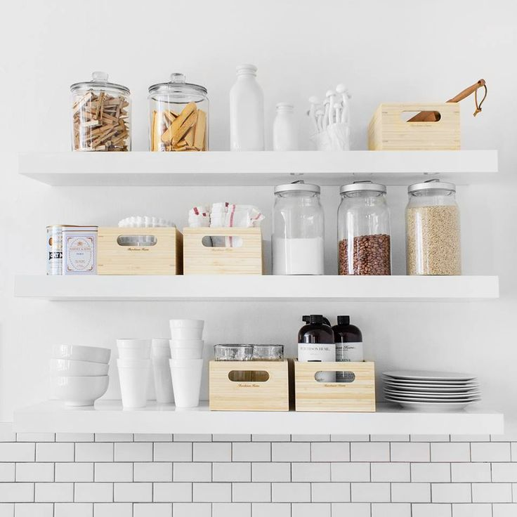 This is how we do IKEA. We transformed our IKEA USA LACK shelving into the perfect kitchen storage unit, complete with our renewable bamboo caddies. Store your essentials (and look good doing it) without breaking the bank. Easy, simple, & beautiful. Upgrade your shelving with stylish caddies.