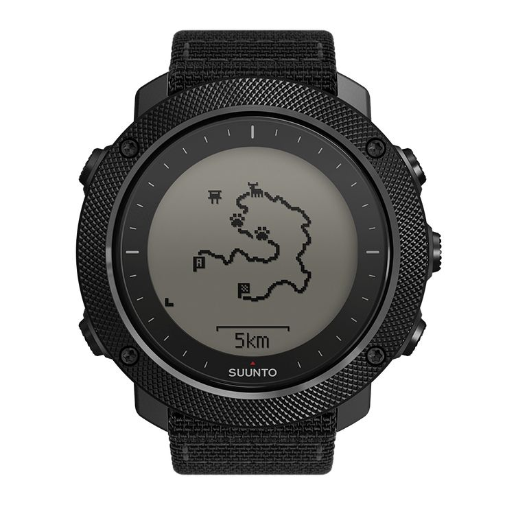 GPS/GLONASS watch with versatile outdoor functions for fishing and hunting