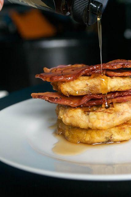 AIP Bacon Maple Cinnamon Pancakes