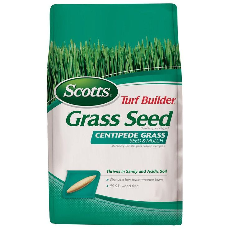 Scotts Turf Builder 5 lb. Centipede-Grass Seed and Mulch-18365 - The Home Depot