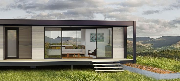New prefab company that has costs down to $165/ft. They design so it can be shipped on a truck. They achieve Zero Energy status