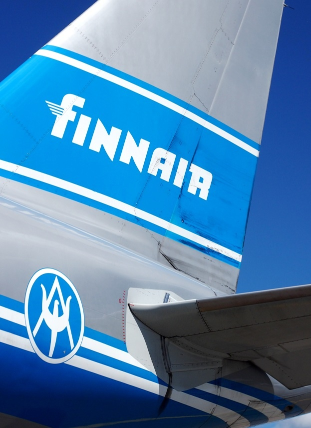 Finnair retro flight. Photo by Jenni http://pupulandia.indiedays.com