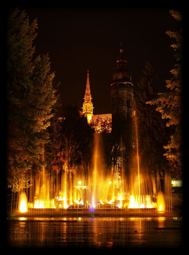 Singing fountain #kosice