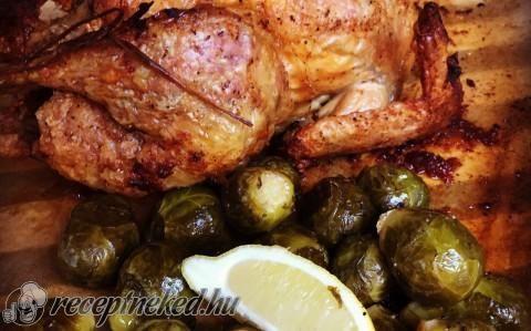 Ropogós sült csirke recept fotóval