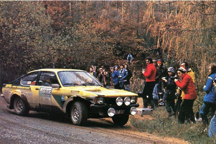 Kullang-Berglund (Opel Kadett GTE) 5me du RAC 1979 - L'Automobile mars 1979