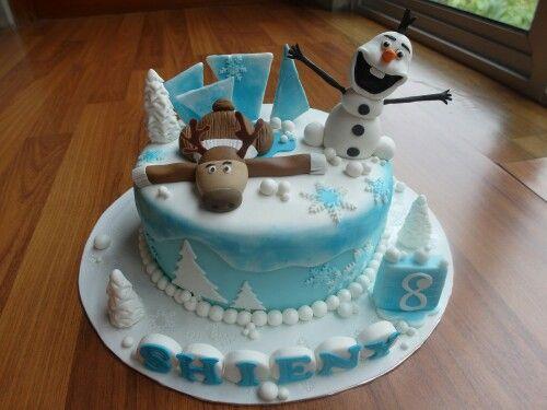 Olaf sven cake