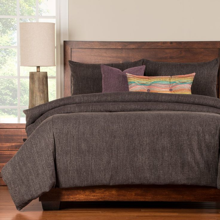 Steele Grey Duvet Set by Siscovers - STGR-XDUCK6