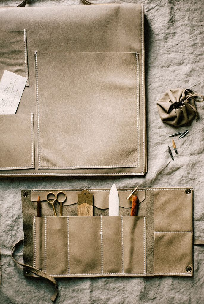 DIY Leather Inspiration - Maker's Bag